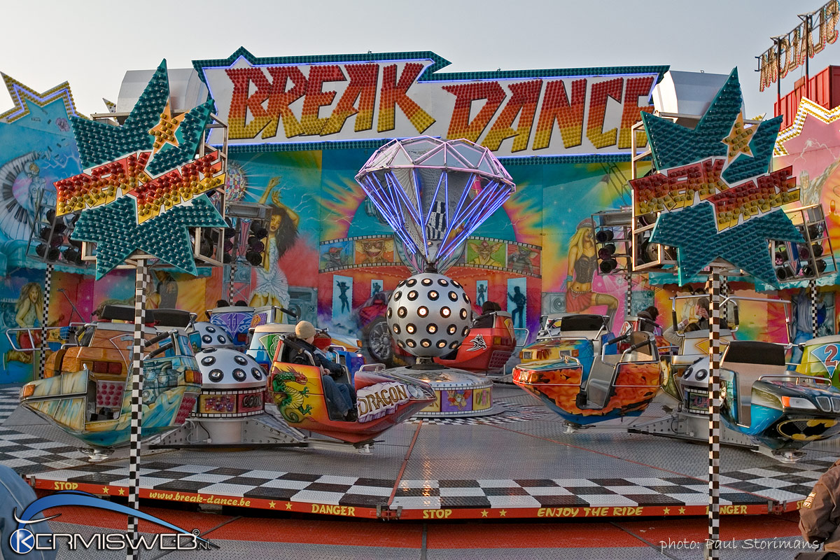 Breakdance Carnival Ride