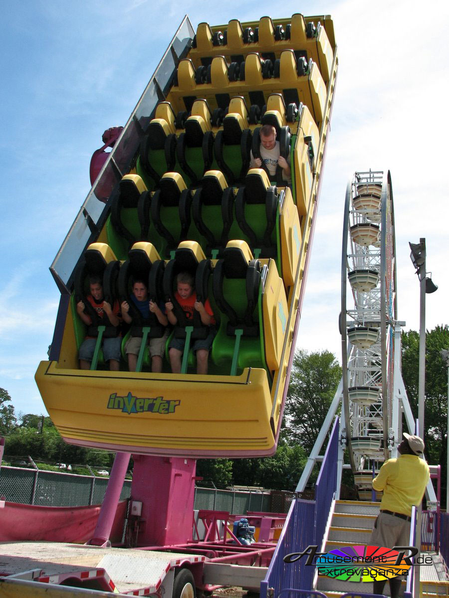 Clempton Park S Inverter Upstate Ny Amusement Ride