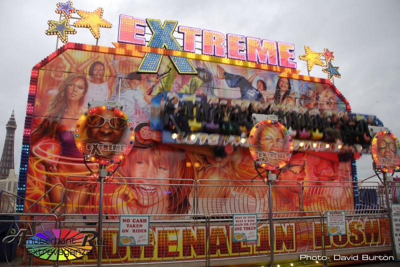 Extreme Miami Blackpool Middle Pier Uk Amusement Ride