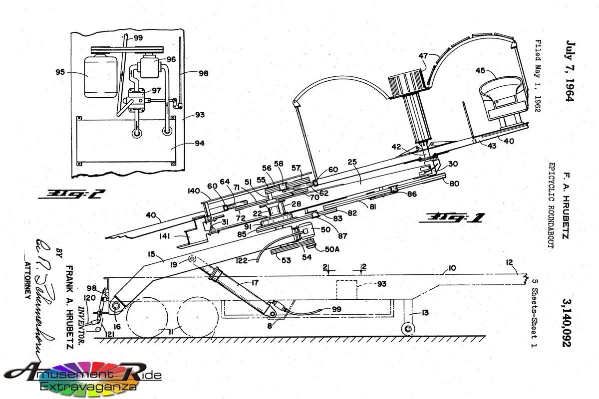 frank hrubetz 1964 patent